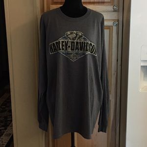 👀 NWT Harley-Davidson Long Sleeve T-shirt